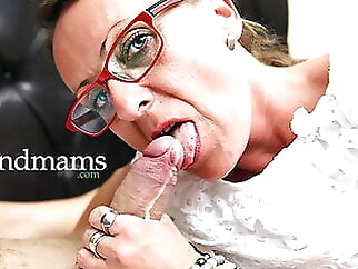 Grandmas Love Cum mature cumshot