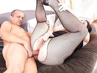 ReifeSwinger - BBW German Wife Tries Hard Anal With Husband blowjob anal