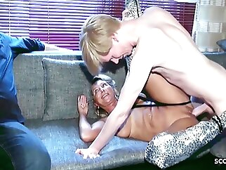 Cuckold Watches German Mature Wife Fuck Monster Cock Teen Boy hardcore blowjob