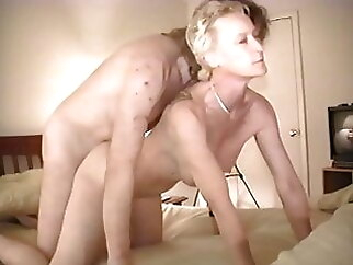 Judy Altman taking Big White Cock Bareback while cuckold films, part 4 mature hardcore