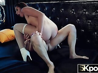 5KPORN Avi Love Has Her Tight Asshole Stretched blowjob anal