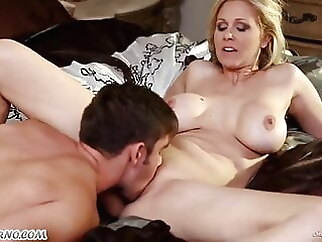 Mother and son, full sex blowjob anal