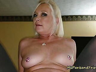 Ms Paris Moonlights as a Professional Hooker blowjob blonde